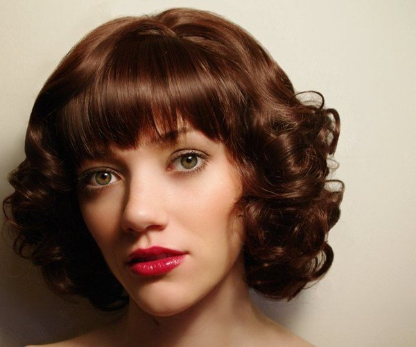 The Best 30 Spectacular Curly Bob Hairstyles Slodive Pictures