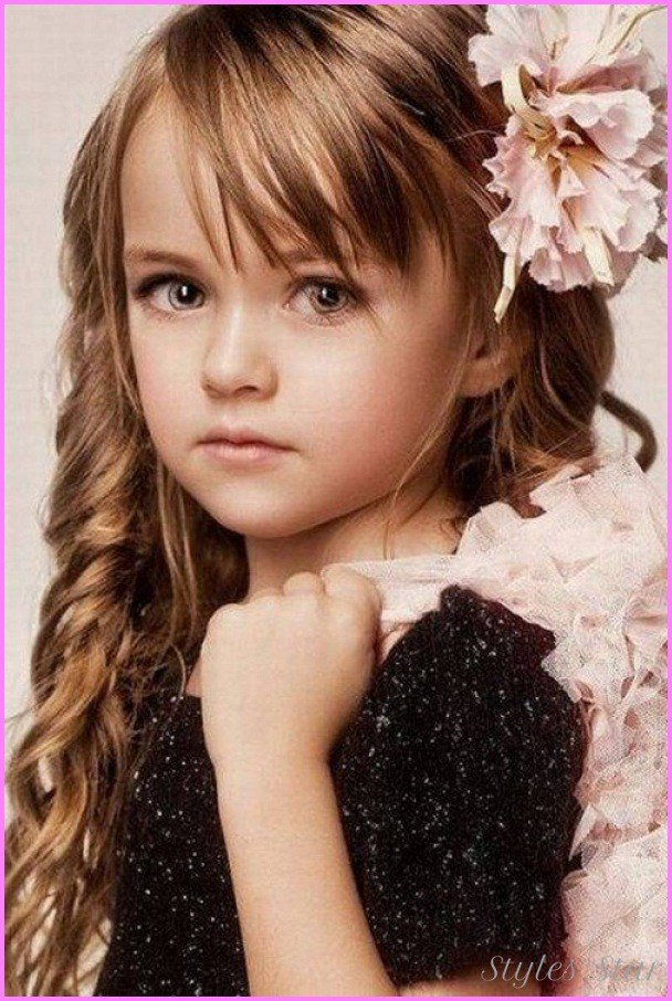 The Best Little Girl Long Haircuts With Bangs Stylesstar Com Pictures