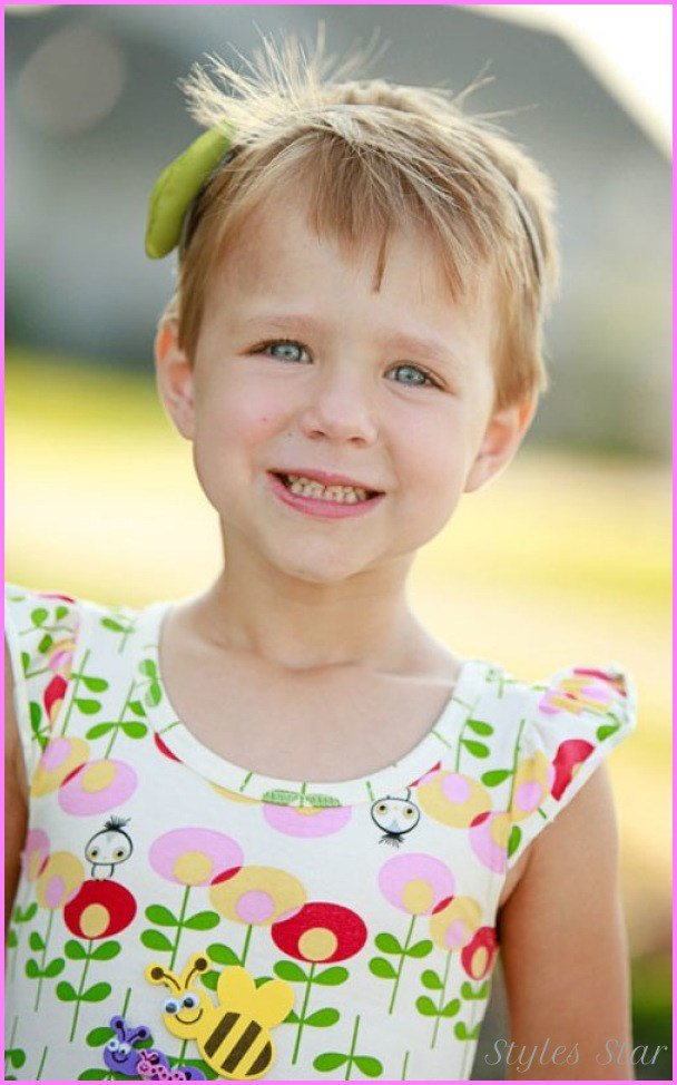 The Best Little Girls Short Haircuts With Bangs Stylesstar Com Pictures