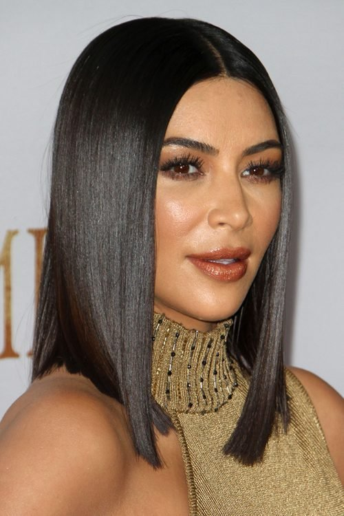The Best Kim Kardashian S Hairstyles Hair Colors Steal Her Style Pictures