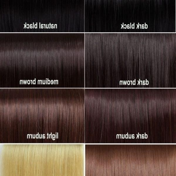 The Best Dark Brown Hair Color Chart World Of Reference Pictures