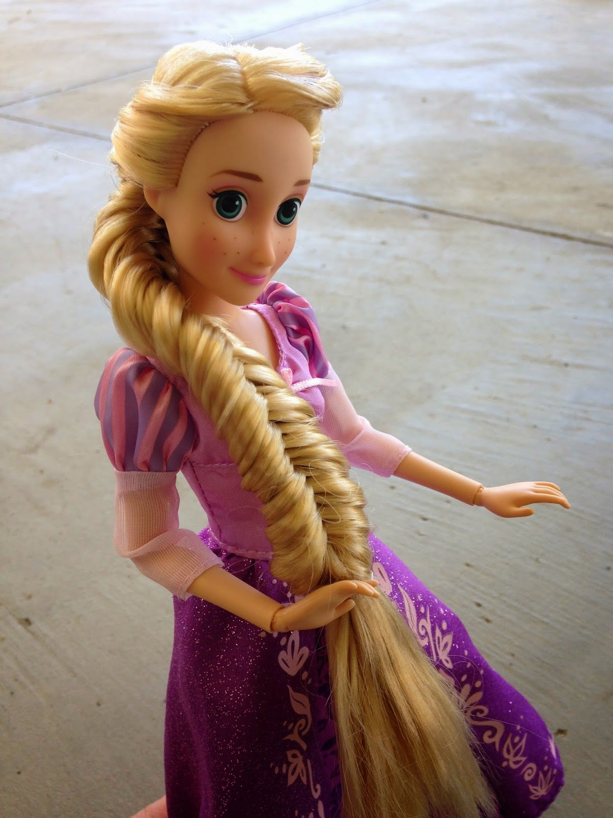 The Best Seven Bloggers And Their Dolls Rapunzel Talks Hair Pros Pictures