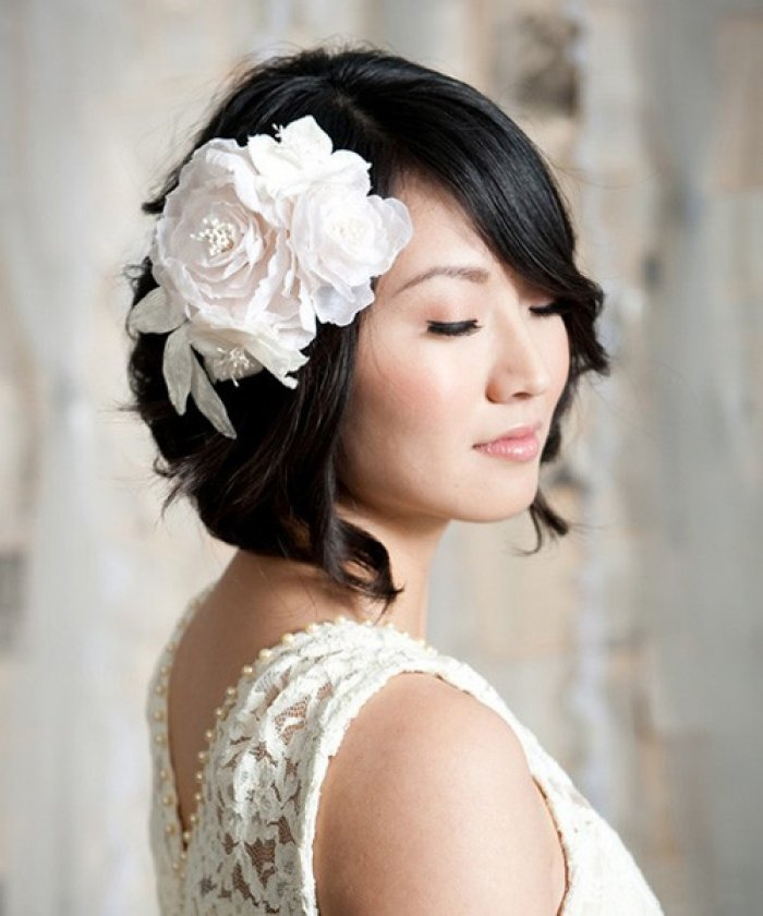 The Best Short Wedding Hairstyles Review Hairstyles Pictures