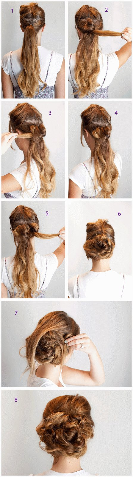 The Best Prom Hairstyle For Long Hair Step By Step Entertainment Pictures