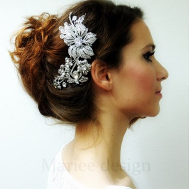 The Best Wedding Hair Accessories Pictures