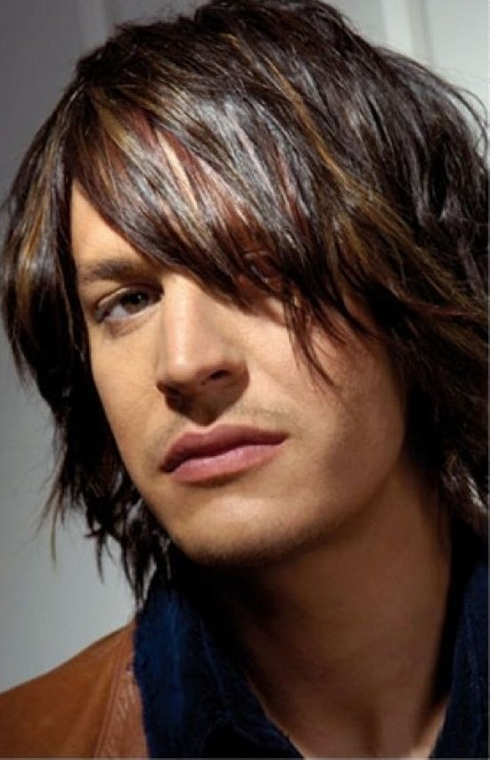 The Best Men's Hair Styles Sh*G Long Layered Hairstyle Kriwul Pictures