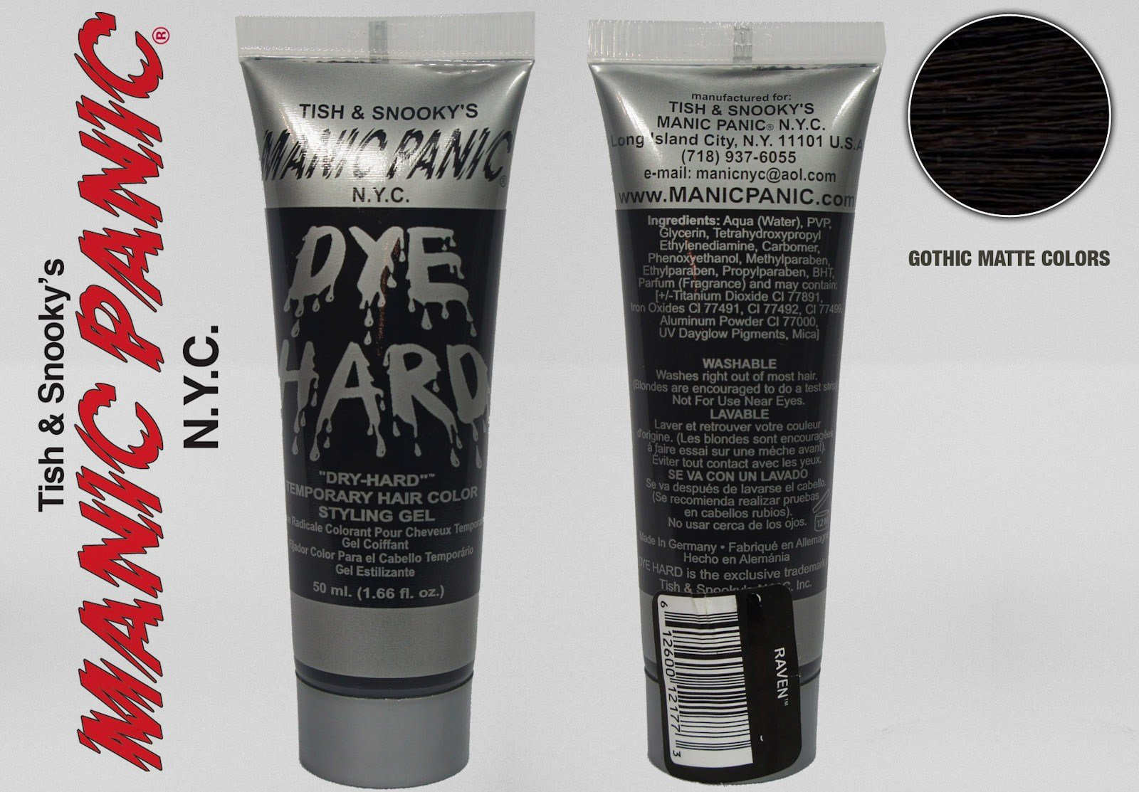 The Best Manic Panic Dyehard Styling Hair Gel Temporary Wash Out Pictures