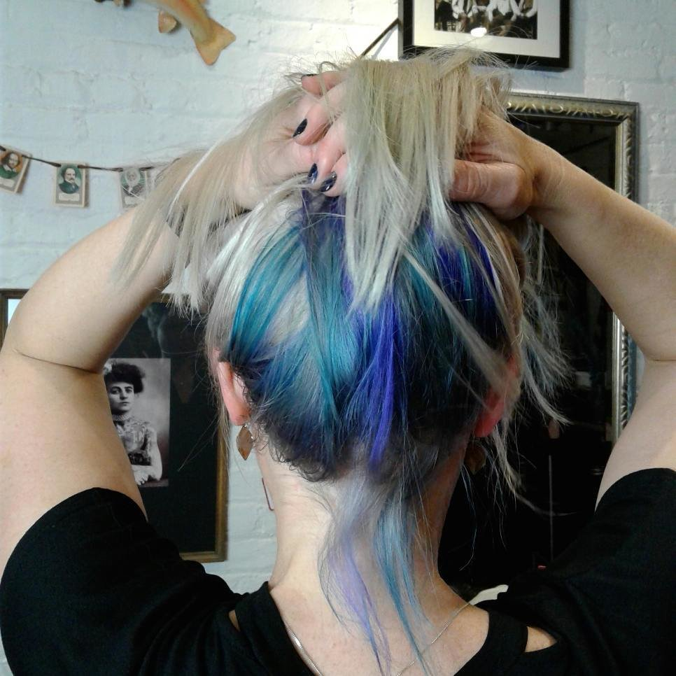The Best Work Appropriate Hair Color 22 Beautiful Purple Hair Pictures