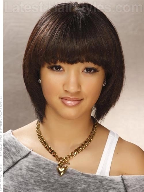 The Best Bob Hairstyle With Fringe More Hairstyles Pictures