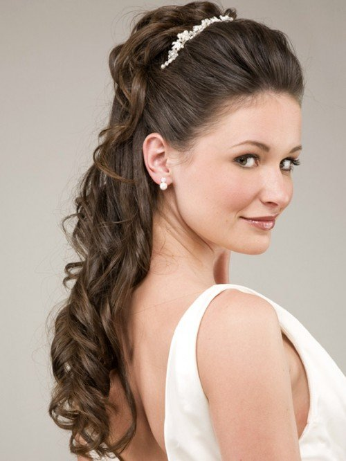 The Best Bridal Hairstyles For Long Hair Half Up Have Your Dream Pictures