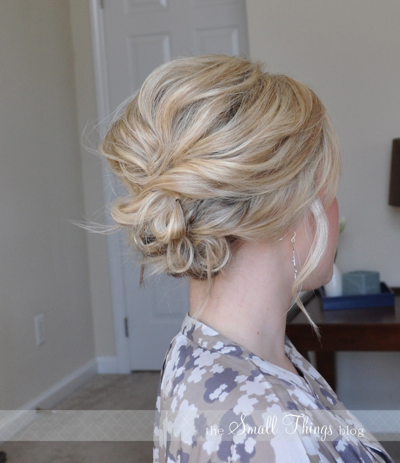 The Best The Messy Side Updo – The Small Things Blog Pictures
