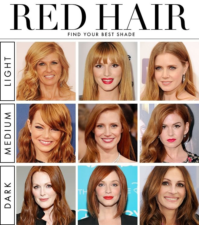 The Best Summer Haircut 2015 How To Find Perfect Red Hair Color Pictures