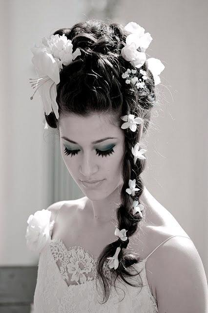 The Best The Northern Bride Wedding Hairstyles With Flowers Pictures