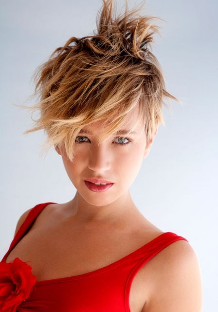 The Best Medium Haircuts With Bangs Funky Short Hairstyles Pictures