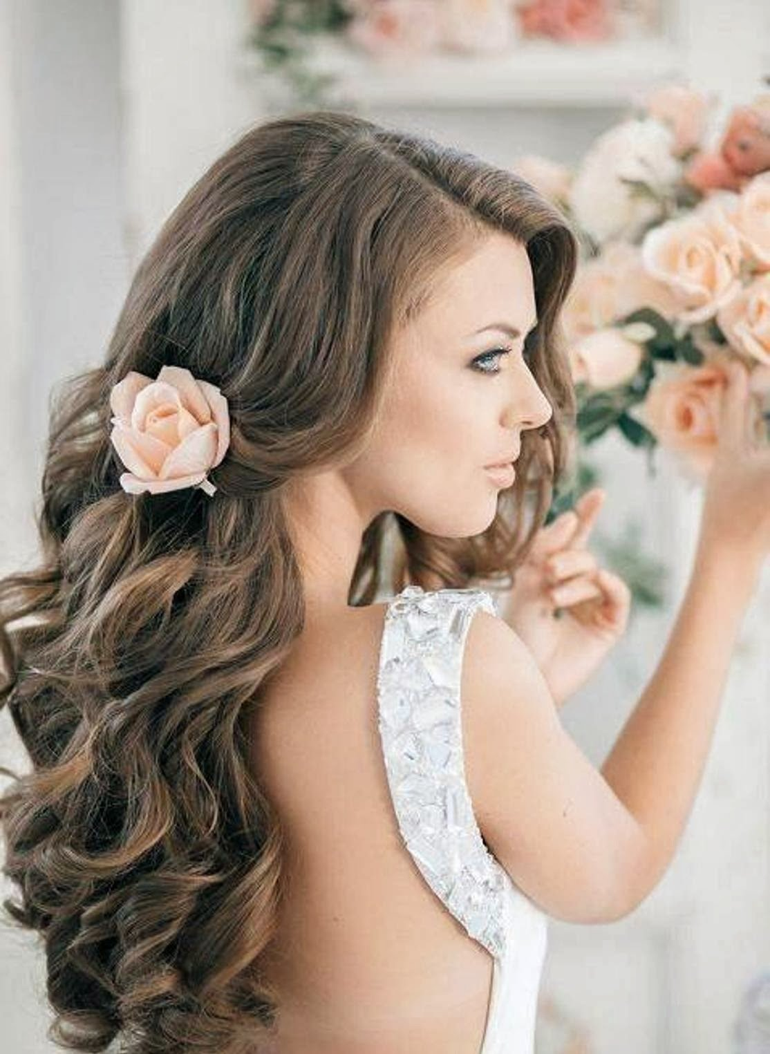 The Best Curly Hairstyles For Long Hair Women Hair Fashion Style Pictures