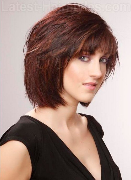 The Best Daily She Book 10 Cute Short Chin Length Hairstyles 2013 Pictures