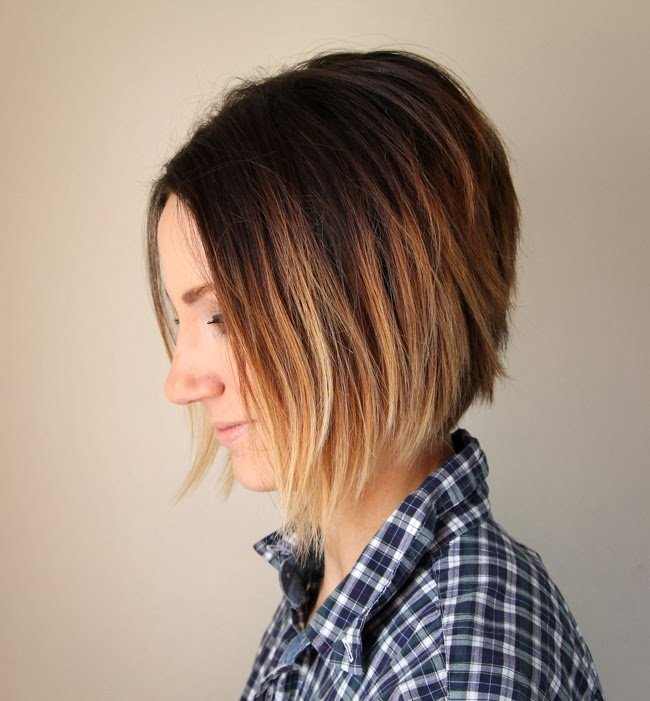 The Best Short Hair Ombre Tutorial How To Do Ombre At Home One Pictures