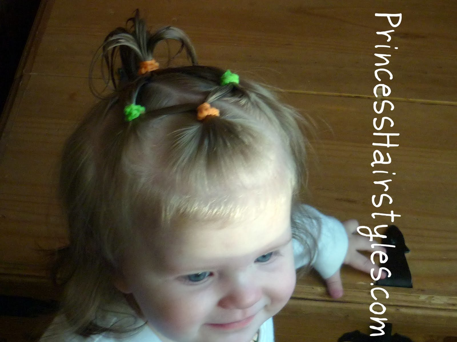 The Best Baby Hairstyles 4 Connecting Ponytails Hairstyles For Pictures