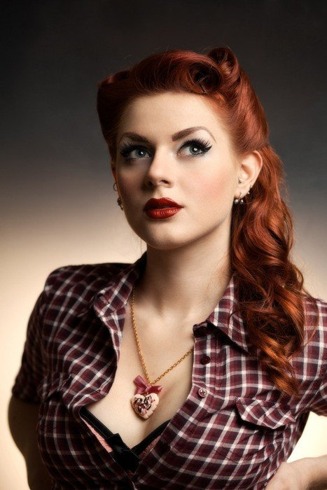 The Best The Stylista Pin Up Hair Lindsey Jones Pictures