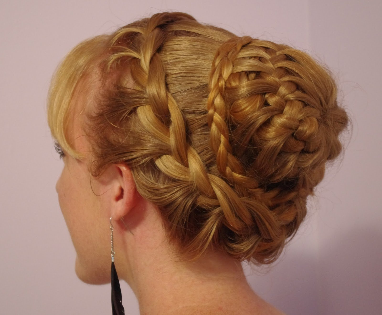 The Best Braids Hairstyles For Super Long Hair Fancy Braided Bun Pictures