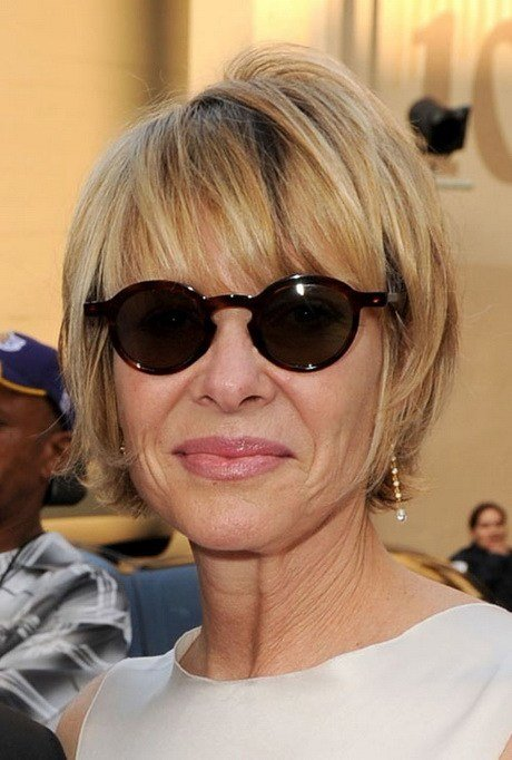 The Best Hairstyles For Women Over 50 With Glasses Pictures