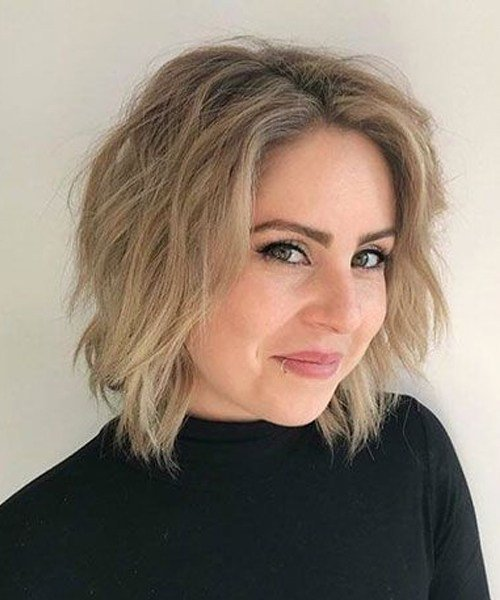 The Best Short Messy Bob Hairstyles 2019 For Women Over 40 Trendy Pictures
