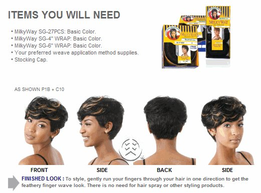 The Best Shake N Go Milky Way 100 Human Hair Sg Wrap Style Pictures