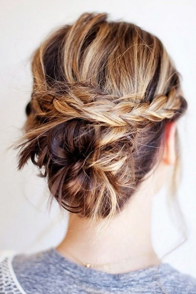 The Best Eight Super Easy Hairstyles For D*Rty Hair Pictures