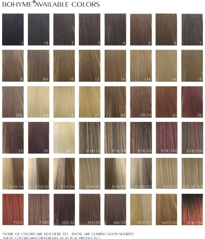 The Best Loreal Blonde Hair Color Chart Pictures
