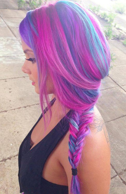 The Best Scarlett S Multi Colored Hair Hair Colors Ideas Pictures