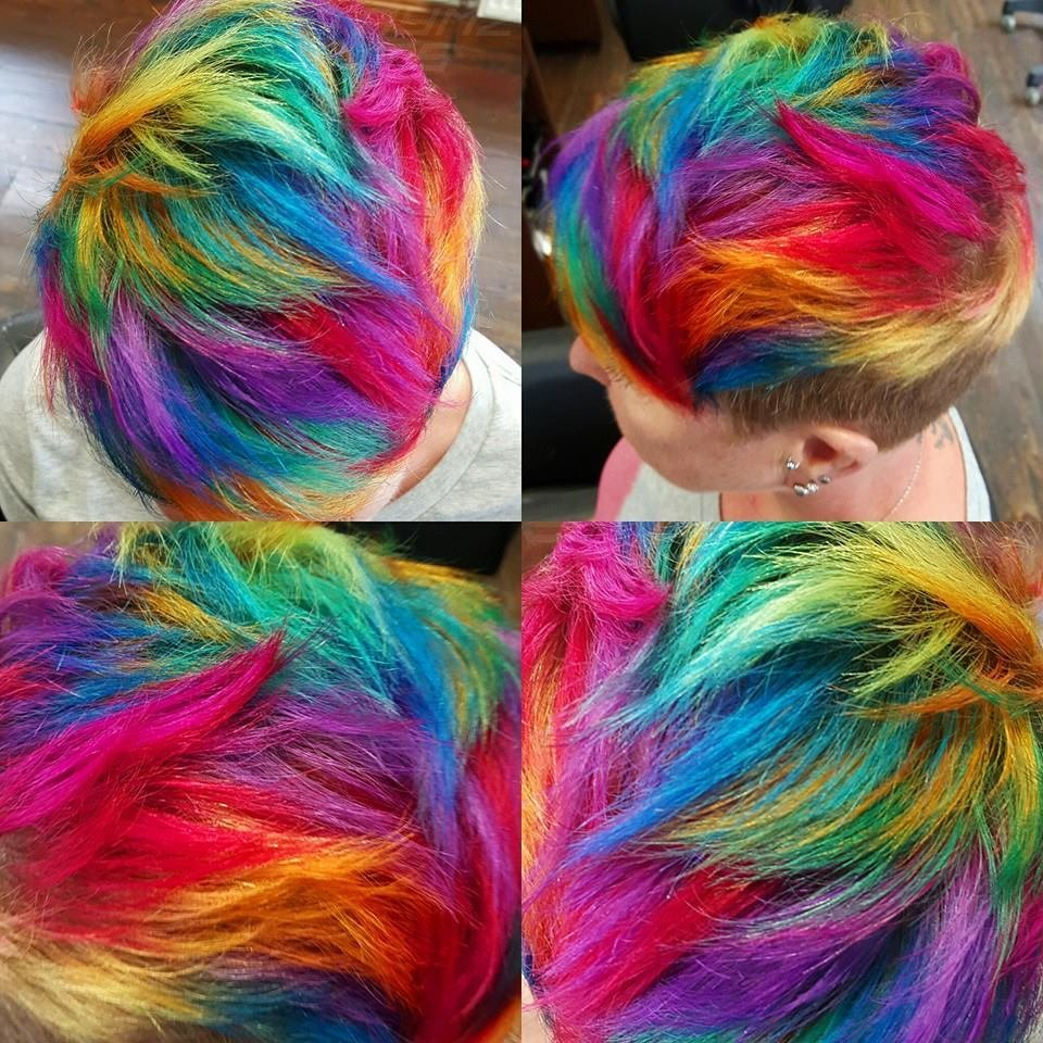 The Best Hair In The Rainbow Hair Category Pictures