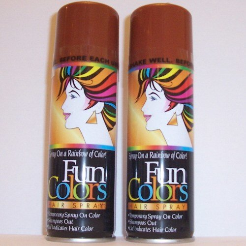 The Best 5 Brown Colored Hair Spray Costume Temporary Color Wash Pictures