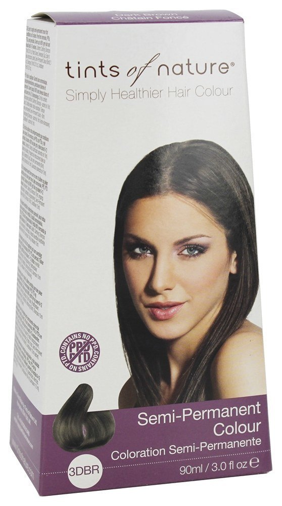The Best Tints Of Nature Semi Permanent Hair Color Dark Brown 3 Pictures