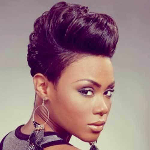 The Best Short Black Hairstyles Ideas For Women S The Xerxes Pictures