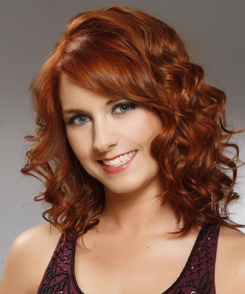 The Best Styling Ideas For Redheads With Naturally Curly Hair The Pictures
