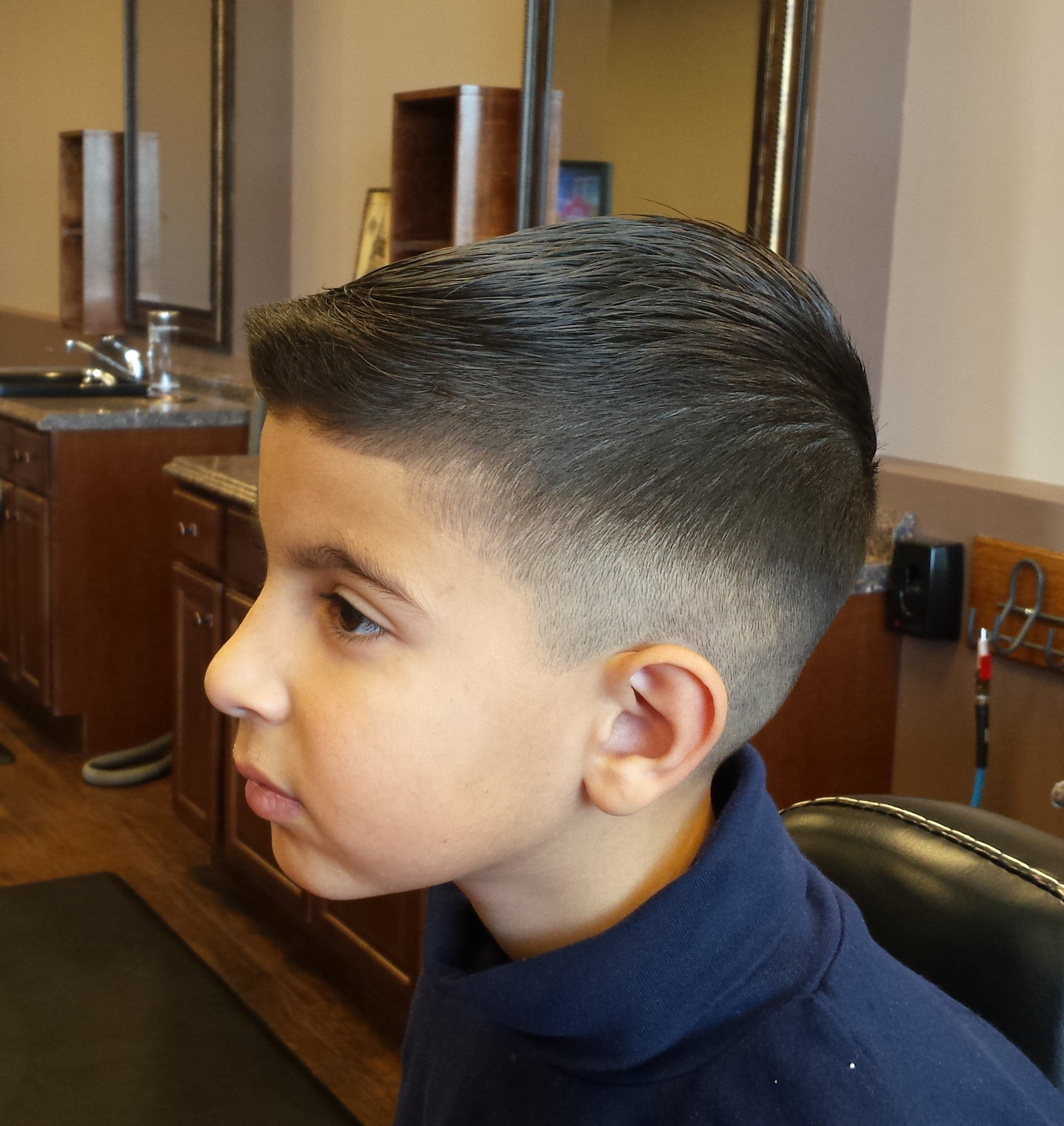 The Best Kids Haircuts – Five Star Barbers Pictures