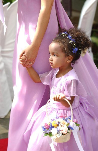 The Best African American Flower Girl Wedding Hairstyles 2018 Pictures