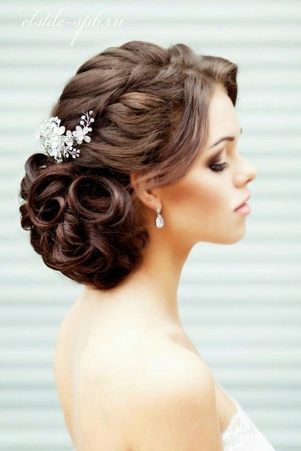 The Best 20 Creative And Beautiful Wedding Hairstyles For Long Hair Pictures