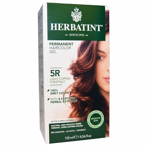 The Best Herbatint Permanent Haircolor Gel 5R Light Copper Pictures