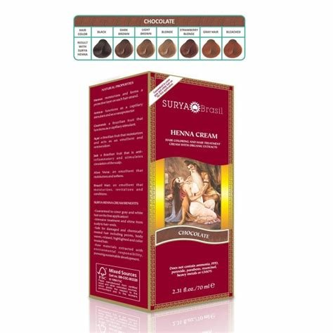 The Best Surya Henna Brasil Cream Hair Coloring Hair Treatment Pictures