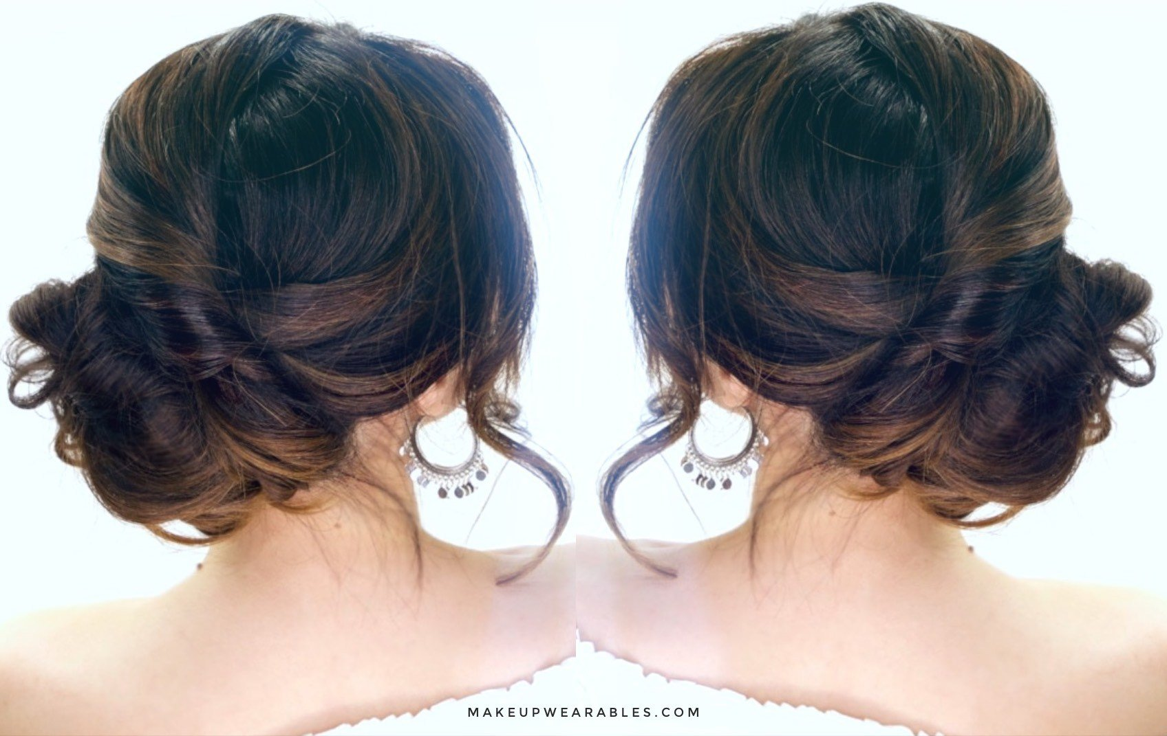 The Best 3 Minute Elegant Side Updo Everyday Easy Hairstyles Pictures