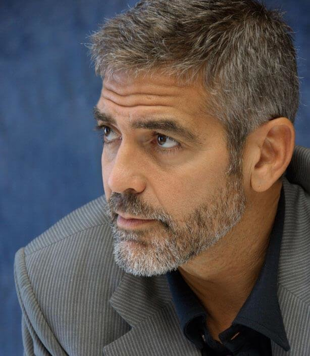 The Best George Clooney Haircut Pictures