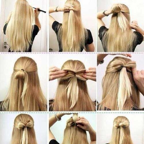 The Best Easy Hairstyles For Eid 2016 2017 Step By Step Tutorials Beststylo Com Pictures