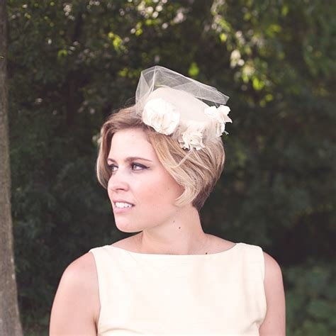 The Best Short Wedding Hair With Pillbox Hat Wedding Hairstyles Pictures