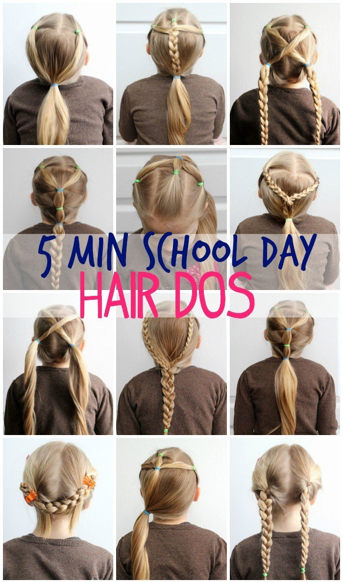 The Best 5 Minute School Day Hair Styles Fynes Designs Fynes Pictures