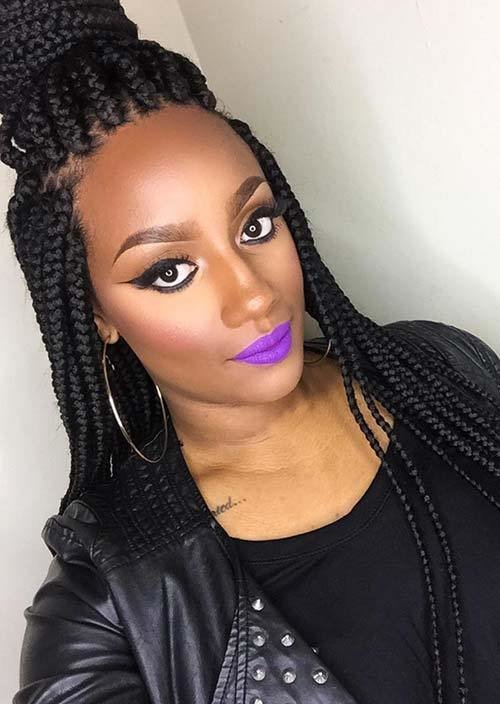 The Best 35 Awesome Box Braids Hairstyles You Simply Must Try Pictures