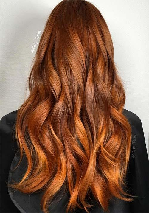 The Best 100 Badass Red Hair Colors Auburn Cherry Copper Pictures