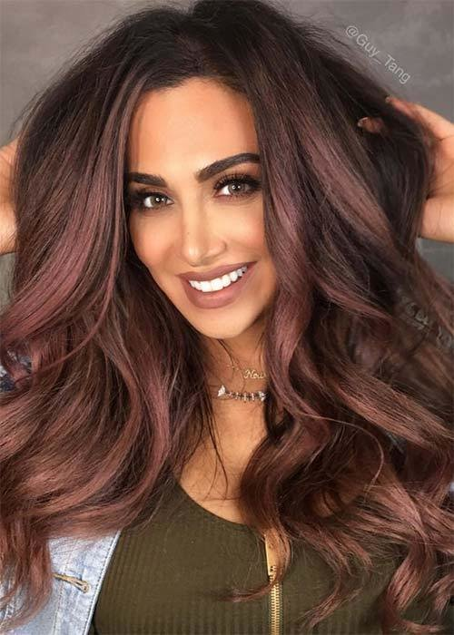 The Best 20 Pretty Chocolate Mauve Hair Colors Ideas To Inspire Pictures
