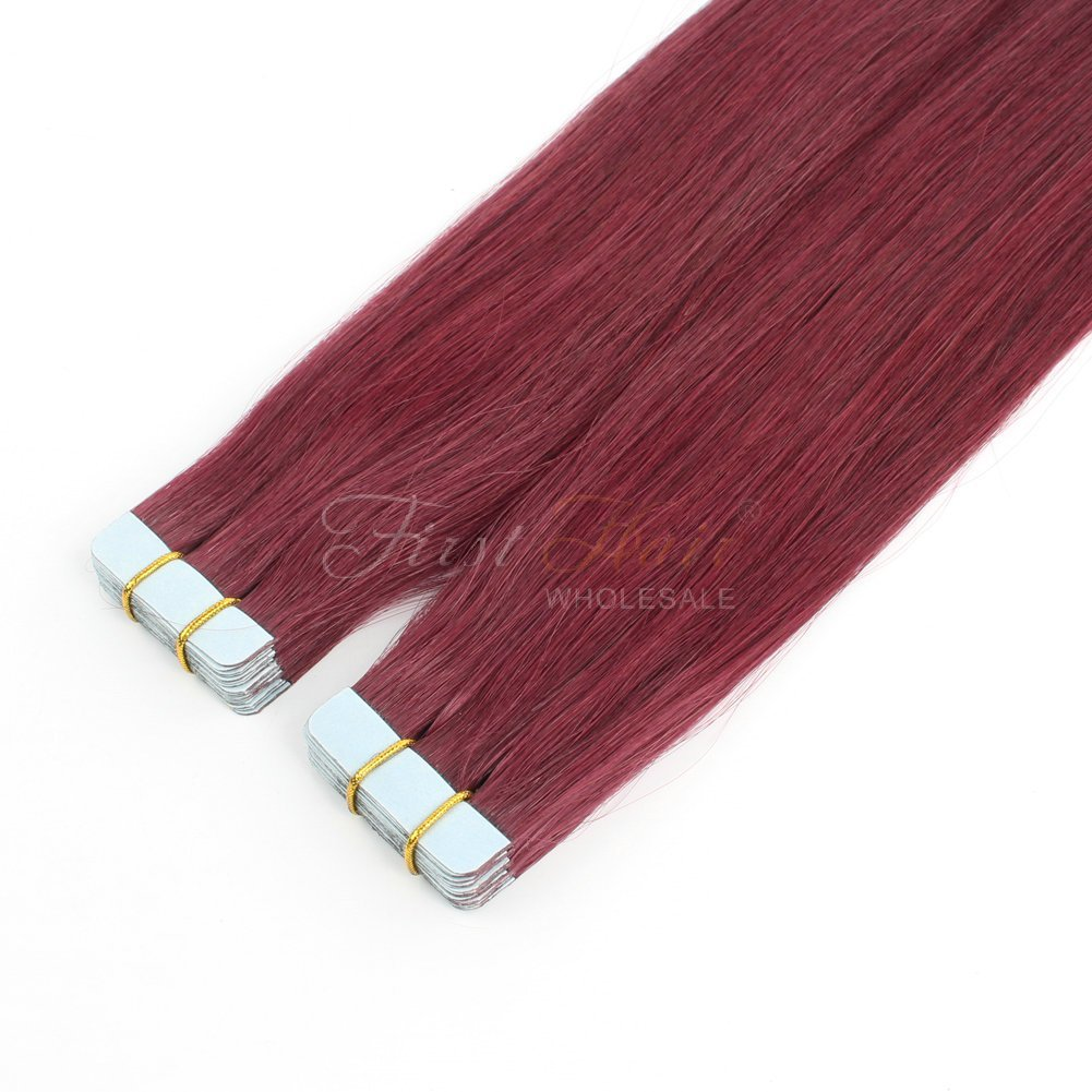 The Best 530 Color Tape In Hair Extensions 18Inch Top Grade V*Rg*N Pictures