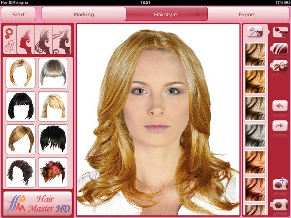 The Best Hair Master Hd Virtual Hairdresser For Ipad Virtual Pictures